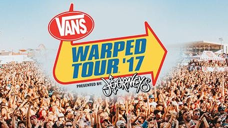 The 2017 Vans Warped Tour is coming to the Oregon State Fairgrounds June 17.