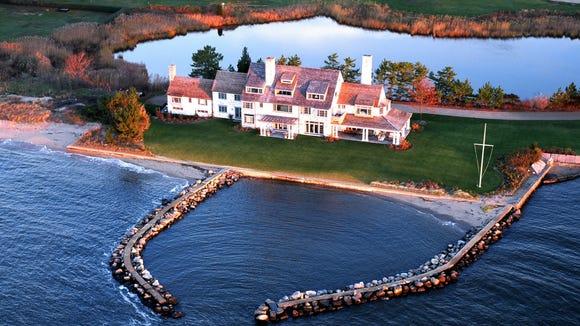 Katharine Hepburn's Old Saybrook estate