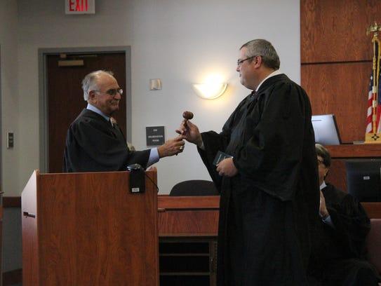 Former 12th Judicial District Judge Robert Doughty