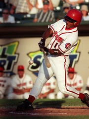 Corey Patterson was the 1999 Midwest League prospect of the year after a strong season for the Lugnuts.