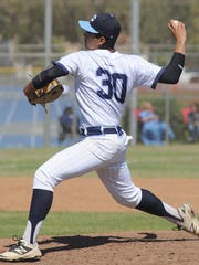 Brian Uribe was named top pitcher in the Coastal Canyon League.
