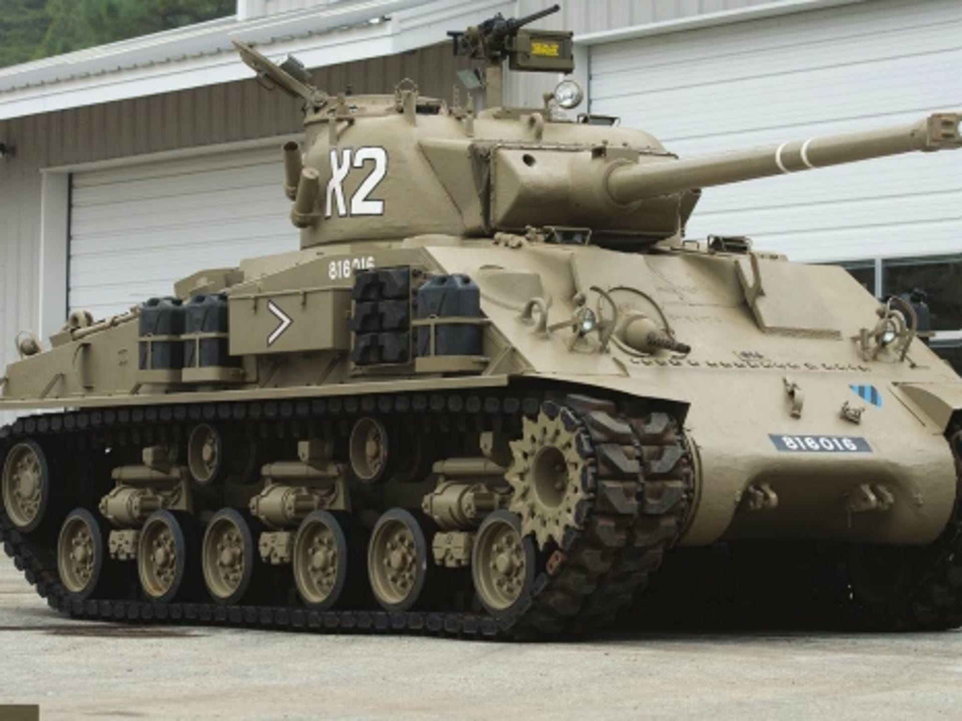 Tanks, missile launchers are part of military vehicle auction