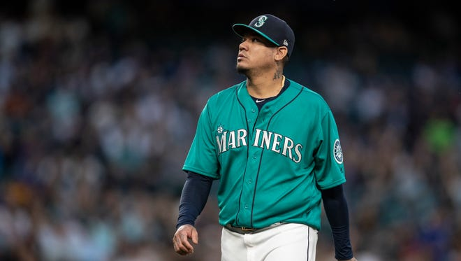 The Mariners have placed Felix Hernandez on the disabled list.