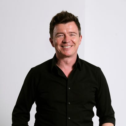 In this Aug. 9, 2016 photo, singer Rick Astley poses