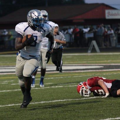 "Hubbard (Ohio) running back LJ Scott has ""a chance"