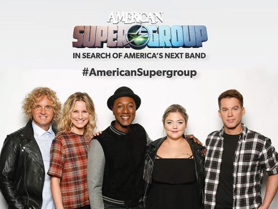 The four American Supergroup judges, all singer/songwriters,