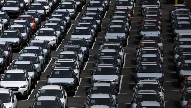 RICHMOND, CA - MAY 24:  Brand new cars sit in a lot at the Auto Warehousing Company near the Port of Richmond on May 24, 2018 in Richmond, California.  U.S. president Donald Trump is threatening to impose heavy tariffs on auto imports and has directed Commerce secretary Wilbur Ross to look into and determine if auto imports could be considered a national security threat and if it would be possible to bypass congress and take unilateral action under section 232 of the Trade Expansion Act of 1962.  (Photo by Justin Sullivan/Getty Images) ORG XMIT: 775169176 ORIG FILE ID: 962212950