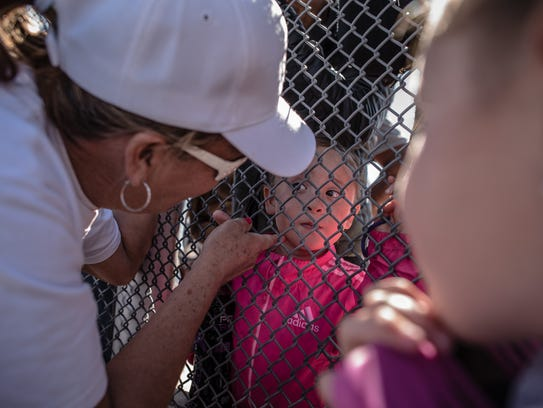 Families separated because of immigration status came