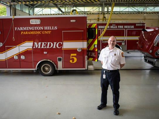 Lt. Jamie Neufeld was named  2016 Firefighter of the