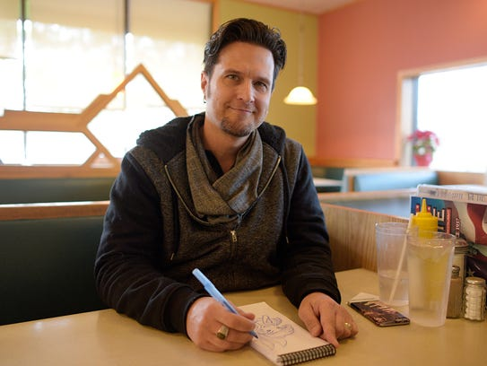 Keith Sintay, a Livonia graduate, was among the animators