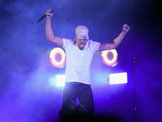 Chance the Rapper performs onstage during the Governors