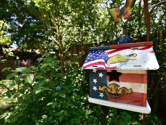 Patriotic designs are popular in the Pensacola area.