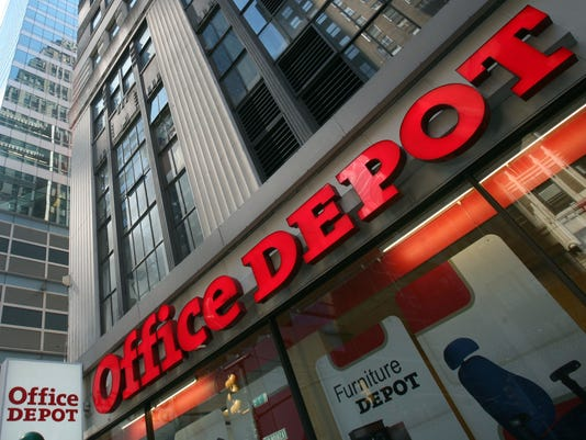 Office supply giant Office Depot rolls out same-day delivery.
