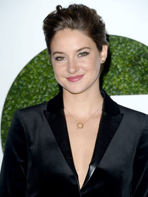 Shailene Woodley is tops on IMDb.com in 2014.