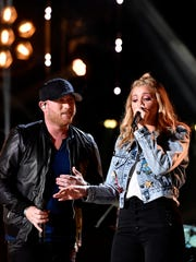 Cole Swindell and Lauren Alaina teamed up on 'Middle