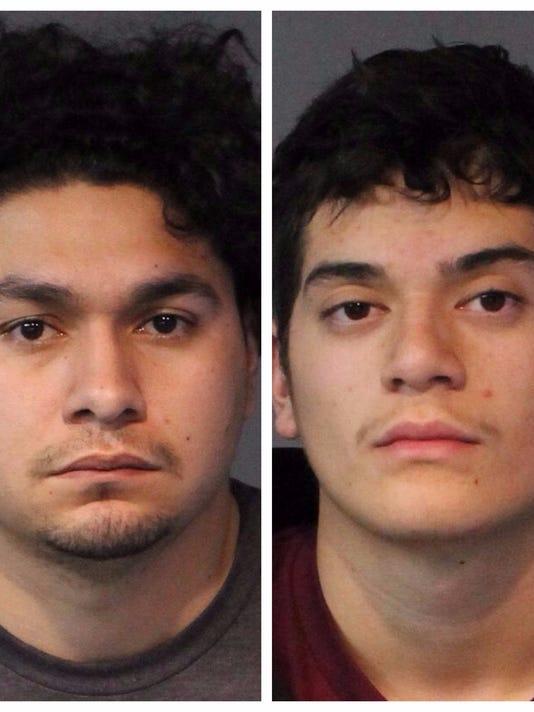 Reno police arrest 2 men on murder for deadly parking lot shooting