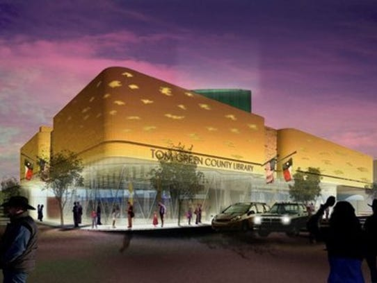 Conceptual Rendering of the Stephens Central Library