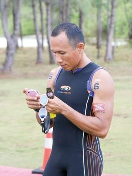 Filipino triathlete takes on XTERRA Guam