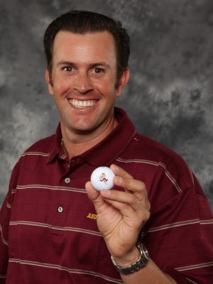 ASU men's golf coach Tim Mickelson has stepped down from his position at ASU, the school announced Wednesday.
