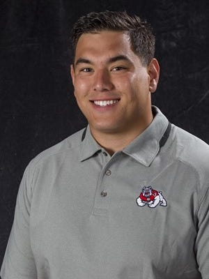 Fresno State offensive lineman Jacob Vazquez, a West Valley High grad, was named to the CoSIDA Academic All-America Division I football team.