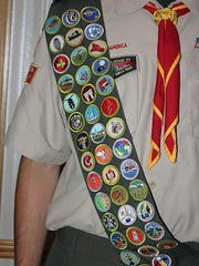 Eagle Scouts must complete 21 merit badges and other requirement in order to achieve the rank. Darius Cotter completed 41 badges. On Jan. 30, Cotter marked an important personal milestone. He became an Eagle Scout, officially celebrating with a Court of Honor on June 10. The 18-year-old is the 15th member of his family on his mother's side — the Simon side — to achieve the rank.