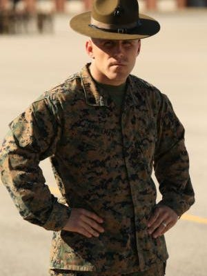 marine corps drill instructor