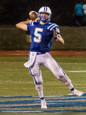 Wyoming quarterback Andrew Marty.