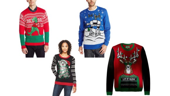 Treat yourself to a new ugly sweater for this year's