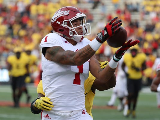 NCAA Football: Indiana at Maryland