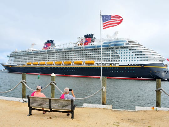 The Disney Fantasy will be one of three Disney Cruise