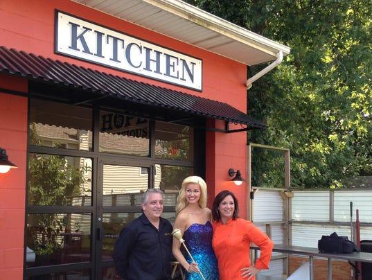 Mermaid visits Jon Bon Jovi Soul Kitchen