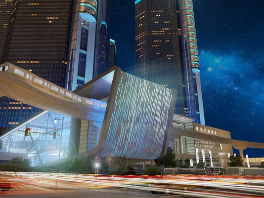 GM's planned addition to the Renaissance Center