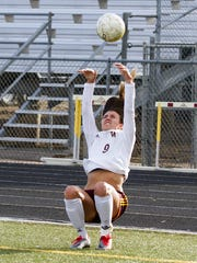 Windsor junior Chaynee Kingsbury's flip throw-ins have