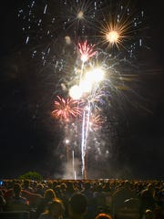 The 72nd annual St. Cloud Are July 4th Fireworks show starts at 10 p.m. from a barge anchored between Hester and Wilson Parks in the Mississippi River.