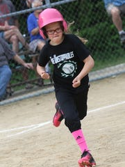 The Clear Fork Unstoppables took on the Mansfield Challengers on Tuesday evening at Sterkel Park.
