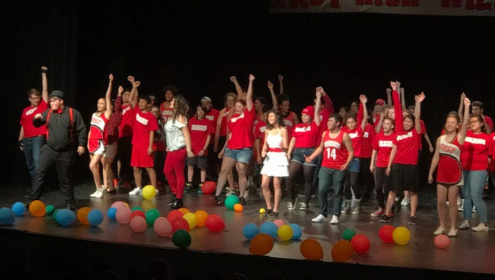 "Life imitates art in McKay High School's stage production of Disney's ""High School Musical."""