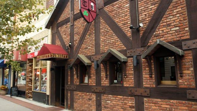 Tumulty's Pub on George Street  in New Brunswick.