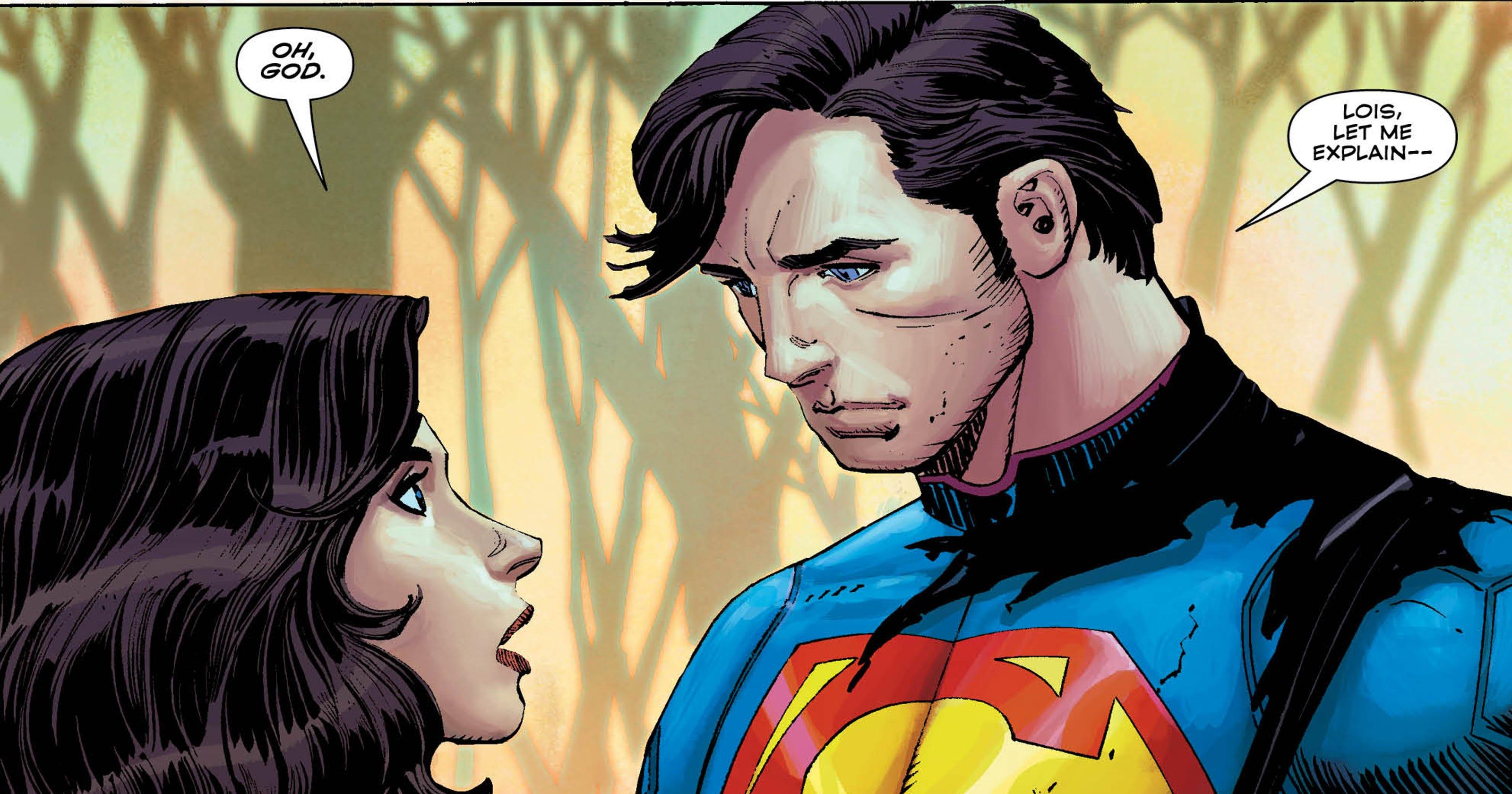 Supermans New Reality No Secret Identity