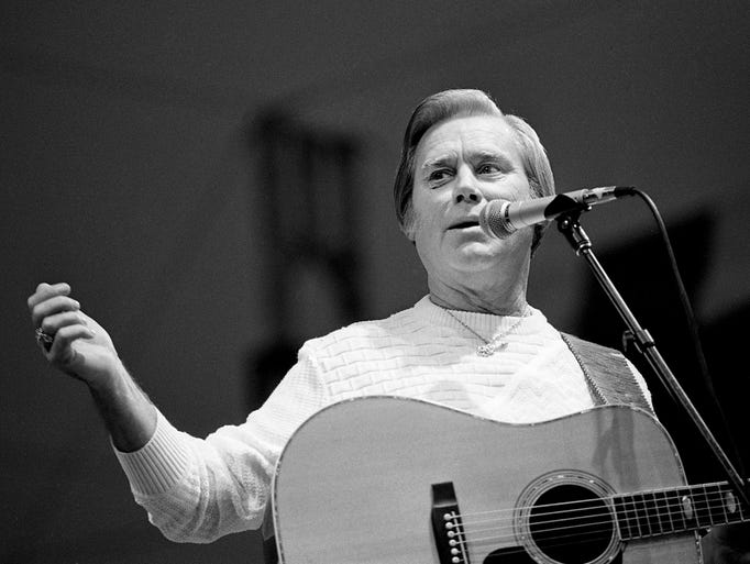 George Jones, the unquestioned star of the CBS Records