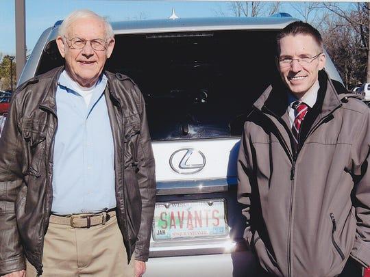 Dr. Darold Treffert and Jason Padgett