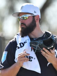 """Michael Fulmer: """"I just trying not to waste too many"""
