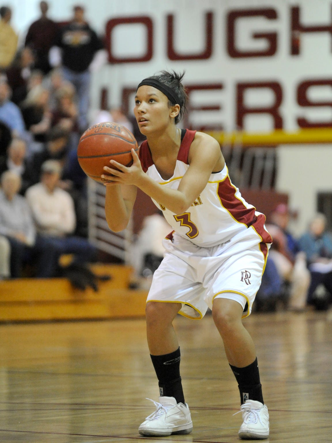 Roosevelt's Shaunteva Ashley was named Argus Leader Player of the Year in 2010.