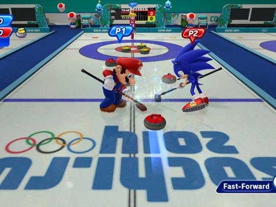 Mario & Sonic at Sochi 2014 Winter Olympic Games