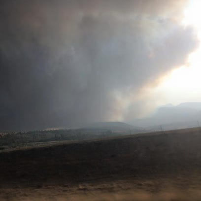 The Family Peak Complex Fire has reached the south