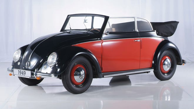 Volkswagen started many things when its Beetle hit the U.S. in 1949, including the lament, 'Why don't we get the good ones?' This 1949 Beetle Cabriolet by VW-allied body specialist Karmann wasn't among the first shipped to the U.S.