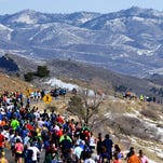 The 41st running of the Horsetooth Half Marathon is Sunday in Fort Collins. About 1,500 people are expected to participate.
