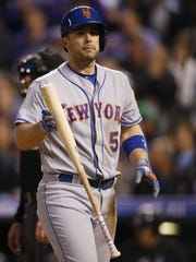 Mets third baseman David Wright