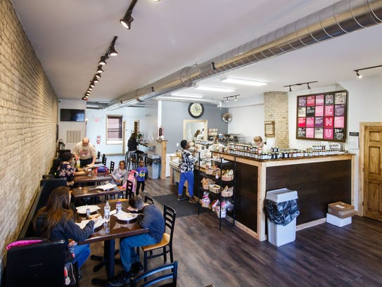 The Peanut Butter & Jelly Deli at 6125 W. Greenfield Ave. in West Allis offers sandwiches along with serving peanut, almond and cashew butters ground daily and about 100 jams, jellies and spreads on a variety of breads, including gluten-free.