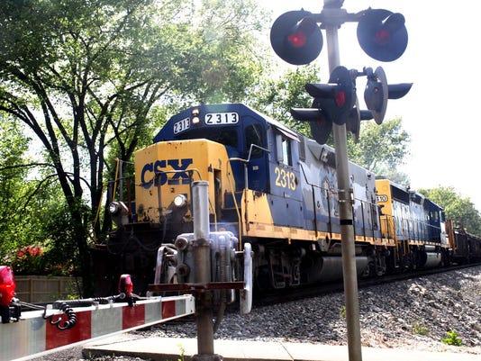 CSX Train at Washburn