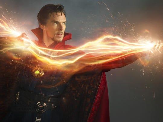 "Benedict Cumberbatch brings some peculiar magic to ""Doctor Strange."""
